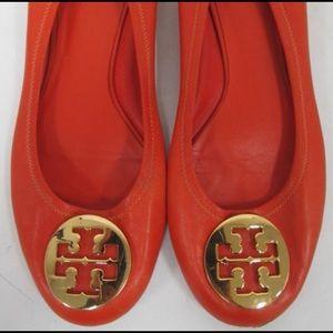 Shoes - Tory Burch Reva Flats. Size 10